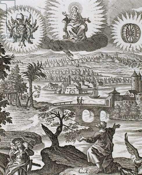 Vision of Ezekiel (engraving)