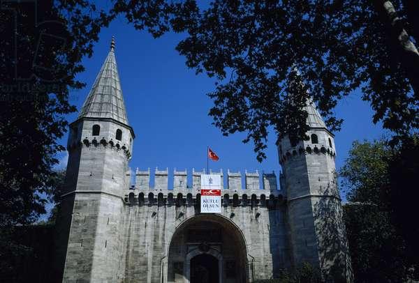 Turkey. Istanbul. Ortakapi Gate (Middle Gate).