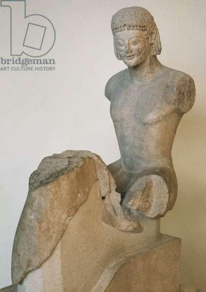 Greece. Archaic Period. Rampin Rider. C. 550 BC.