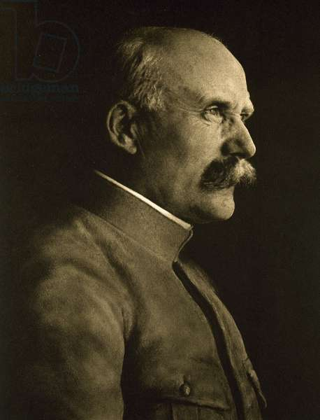 Portrait of Philippe Petain, French General