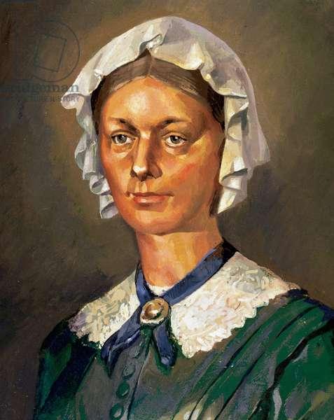 Florence Nightingale (1820-1910). English nurse, writer and statistician.