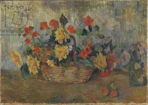 A Flower Basket, 1884