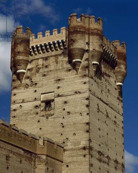 Spain, Medina del Campo, Castle of the La Mota  (photo)