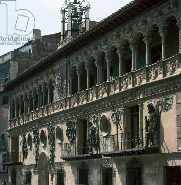 Tarazona City Hall, Aragon, Spain (photo)