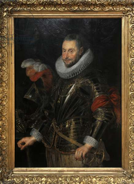 Marchese Ambrogio Spinola (1569-1630) by Peter Paul Rubens (1577-1640).