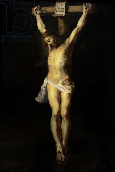 Peter Paul Rubens (1577-1640). Crucifixion,1614. Pinakothek. Detail. Munich. Germany.
