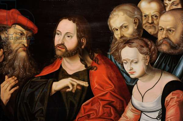 Christ and the Woman Taken in Adultery, 1531