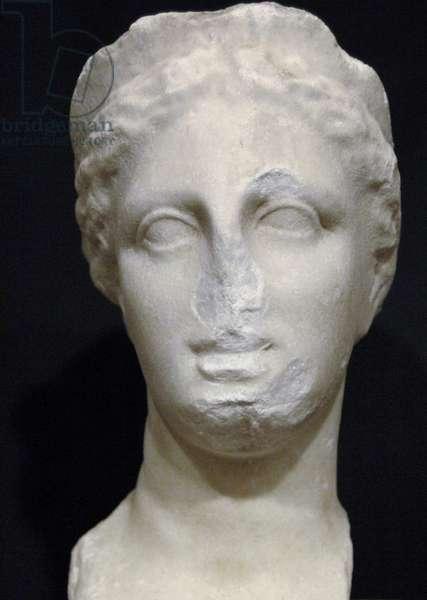 GREEK ART. REPUBLIC OF ALBANIA. Bust of Aphrodite,