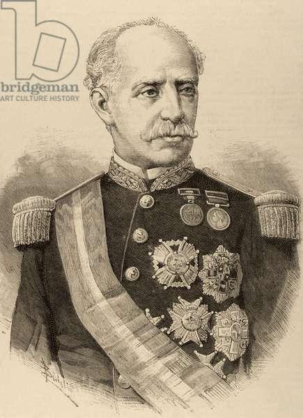 Ignacio Mari?a del Castillo (1817-1893). Engraving.