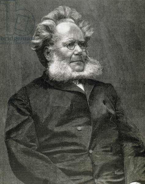 Ibsen, Henrik (1828-1906). Norwegian writer.