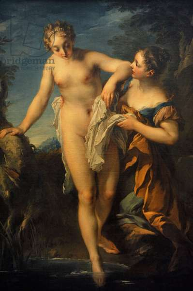 Woman Bathing, after 1724