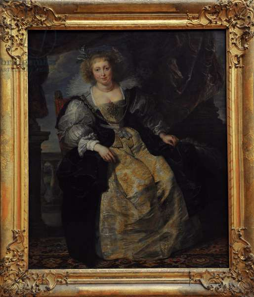Peter Paul Rubens (1577-1640). Helene Fourment in wedding dress. 1630/31.