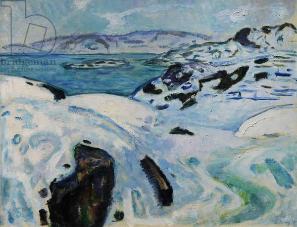 Winter on the Fjord, 1915