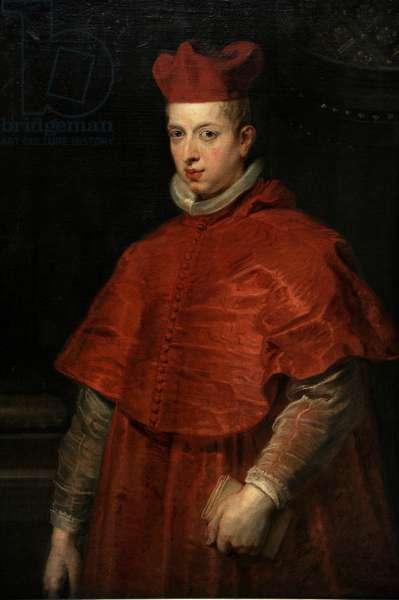 Cardinal-Infante Ferdinand (1609-1641). Portrait by Rubens (1577-1640).