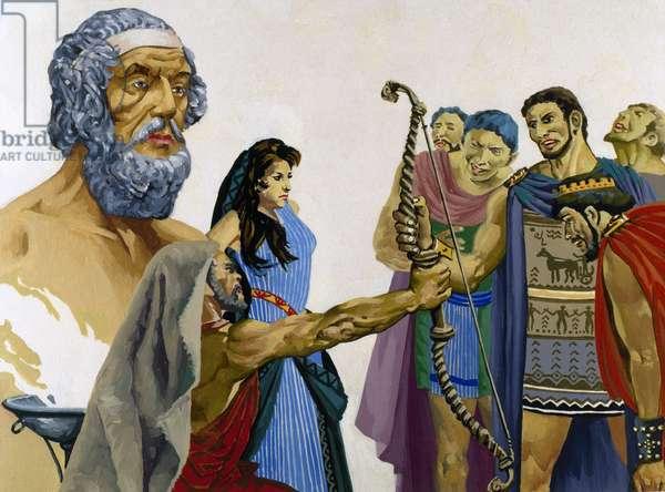 Homer (8th Century B.C.). Greek epic poet.