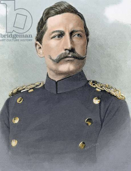 Wilhelm II of Germany (1859- 1941). King of Prussia and German Emperor .