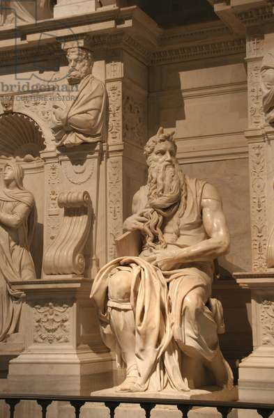 Moses of Michelangelo.