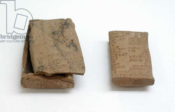 Mesopotamia. Legal and administrative document in sumerian and akkadian language. Babylonia. Beginning of the 2nd Millennium B.C.