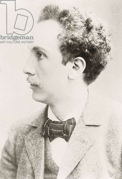 Richard Strauss (1854-1949), German composer of the late Romantic, Portrait, Photo (photo)