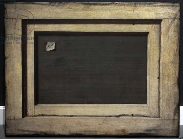 Trompe l'oeil. The Reverse of a Framed Painting, 1670 (oil on canvas)