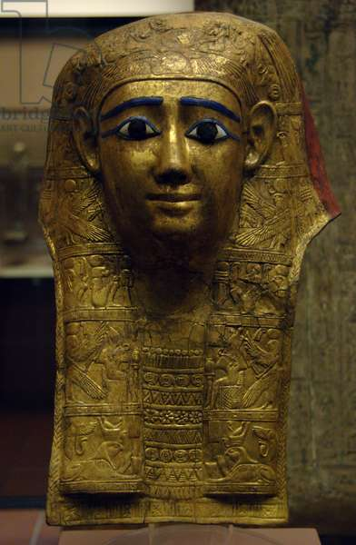 Egyptian funerary mask. 1st century AD. Egypt.