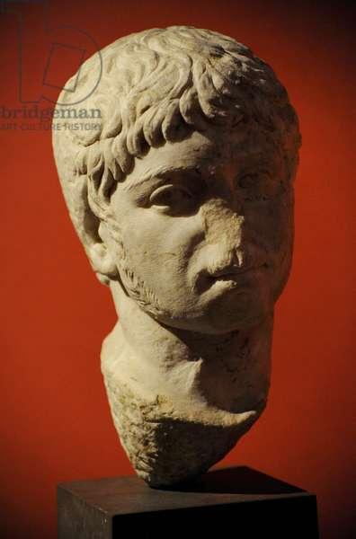 Marble bust of Roman emperor Elagabalus (c.203-222)