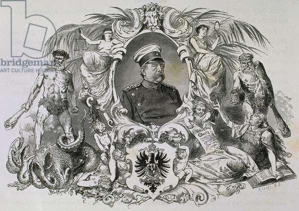 BISMARCK, Otto-Leopold (1815-1898).
