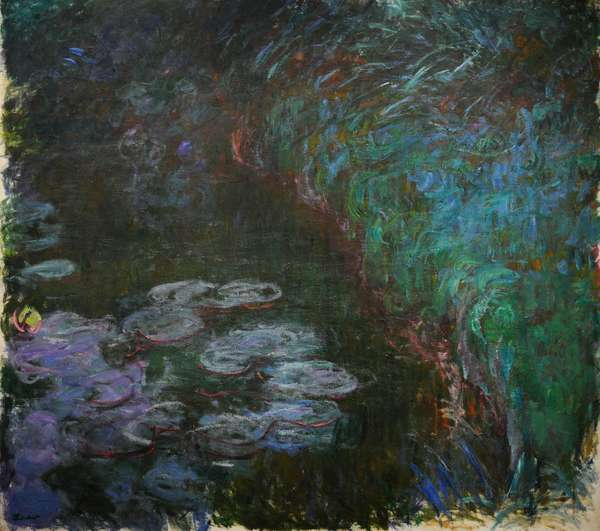 Water Lilies, ca.1915, by Claude Monet (1840-1926).