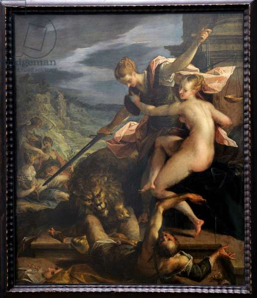 The Triumph of Truth, 1598, by Hans von Aachen (1552-1615).