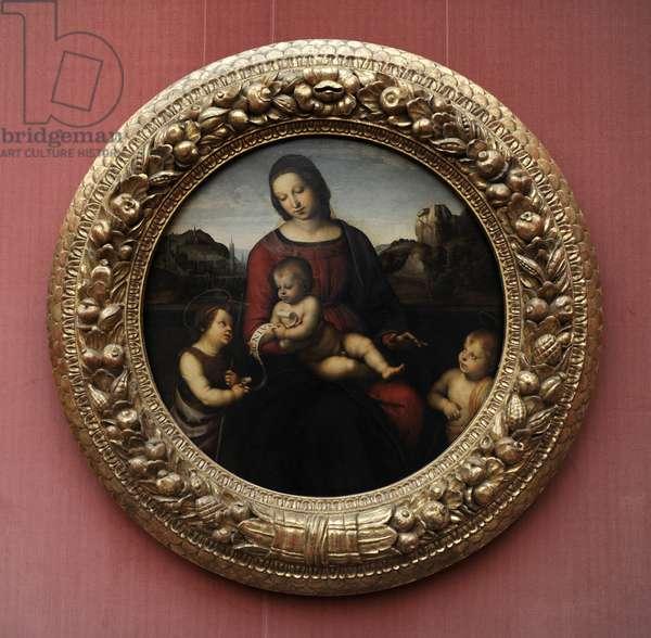 Madonna Terranuova, c.1505, by Raphael (1483-1520).