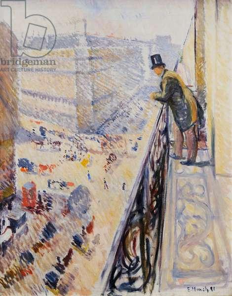 Rue Lafayette, 1891