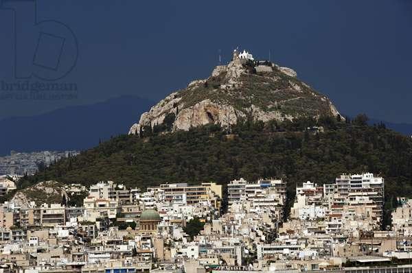 Greece. Athens. Mount Lycabettus.