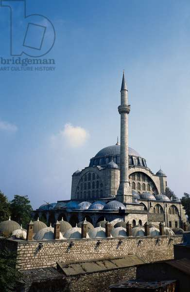 Turkey. Istanbul. The Mihrimah Sultan Mosque designed by Mimar Sinan. 16th century.