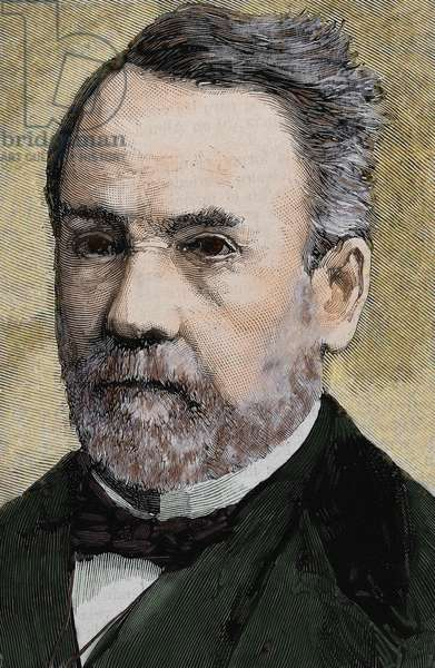 PASTEUR, Louis (1822-1895) French chemist and bacteriologist.