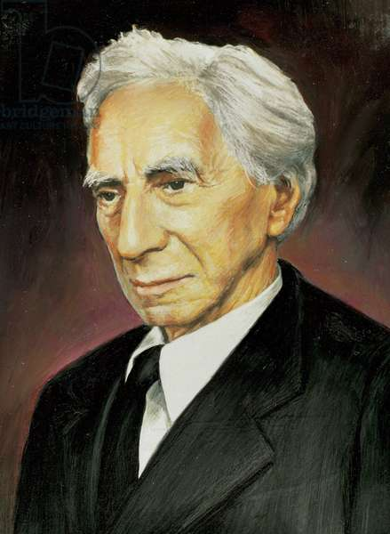 Portrait of British mathematician and philosopher Bertrand Russell (1872-1970).