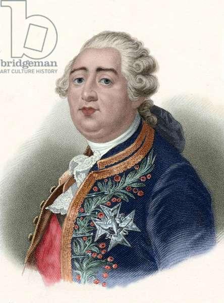 Louis XVI (1754-1793). King of France (1774-1792).