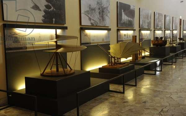 Leonardo Gallery. The science and Technology Museum Leonardo da Vinci. Milan. Italy.