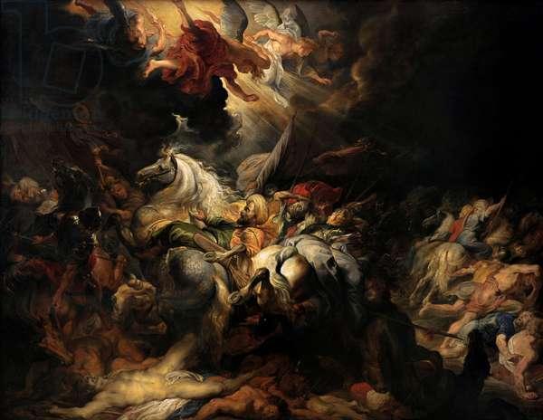 Defeat of Sennacherib, 1616-1618, by Rubens (1577-1640).
