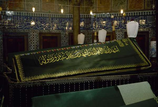Tomb of Suleiman the Magnificent (1494-1566).