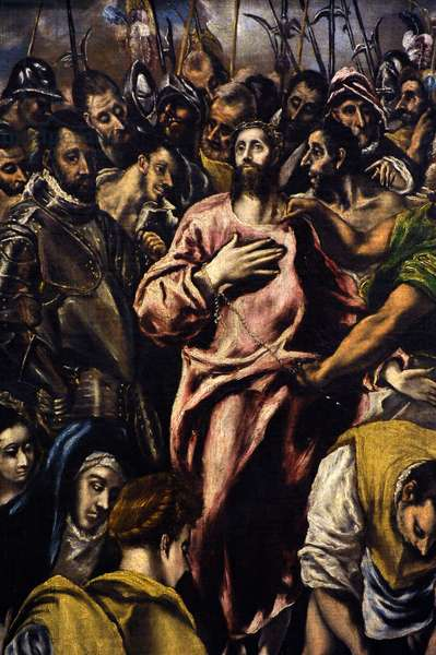 Jesus Christ Stripped of his Garments, detail