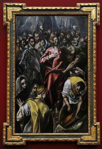 The Disrobing of Christ, ca. 1606-1608, by El Greco (Domenikos Theotokopoulos) (1541-1614)