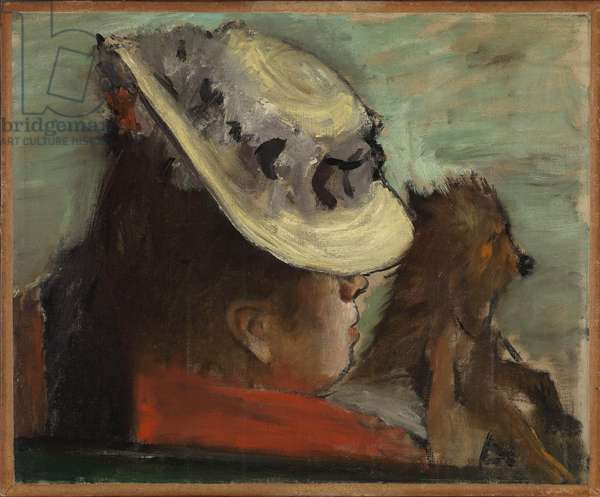 Woman with a Dog, c.1877