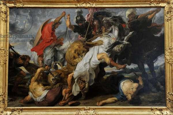 Peter Paul Rubens (1577-1640). Was a German-born Flemish Baroque painter. Lion Hunt, 1621.