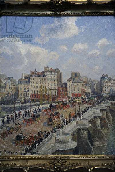 Camille Pissarro (1830-1903). The Pont-Neuf (1902). Museum of Fine Arts. Budapest. Hungary.