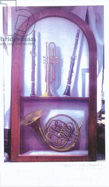 I Hear Music, Sweet Music (1985) oil on panel