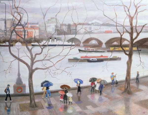 Waterloo Promenade, 2006 (oil on canvas)