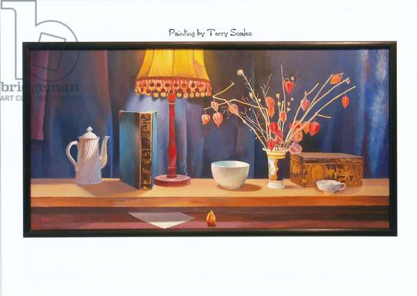 Midnight, Still life, 1980 (oil on panel)