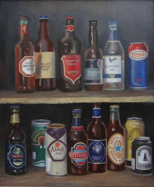 Real Ale Bonanza, 2012 (oil on canvas)