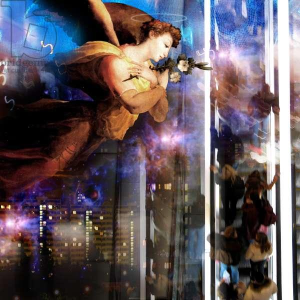 Jacobs Ladder, 2008 (digital collage)
