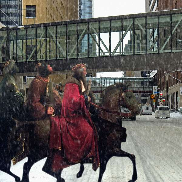 Three Kings, 2008 (digital collage)